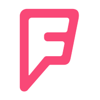 Fousquare logo, links to the page on Fousquare